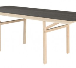 Moormann Klopstock Tisch M - Melaminharz anthrazit