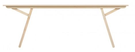 Moormann Klopstock Tisch M - Melaminharz weiß