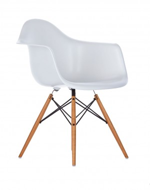 Vitra DAW Eames Plastic Armchair - weiß