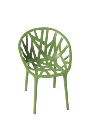 Vitra Vegetal Stuhl - grün