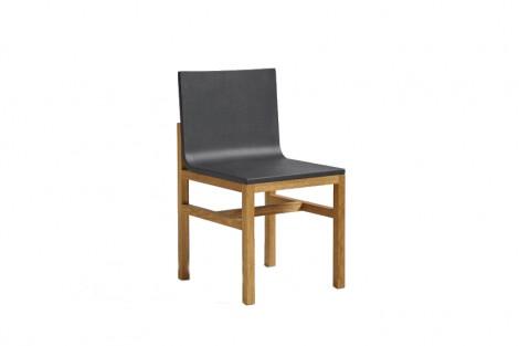WRONG for HAY Slope Chair - Sitz schwarz - Gestell Eiche geölt