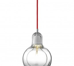 &tradition Mega Bulb SR2 - Hängeleuchte - rot