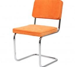 BUTIK Esszimmerstuhl Modjo Cordstoff Orange